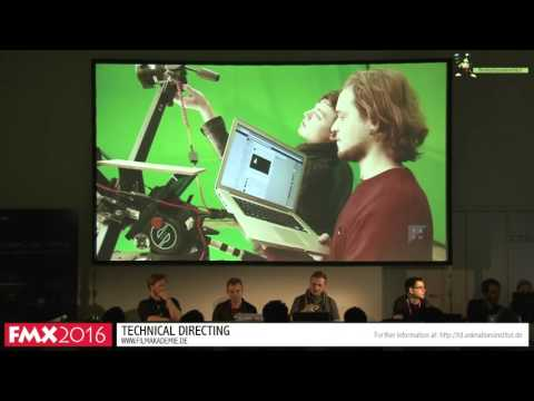 Technical Director Session @ FMX 2016