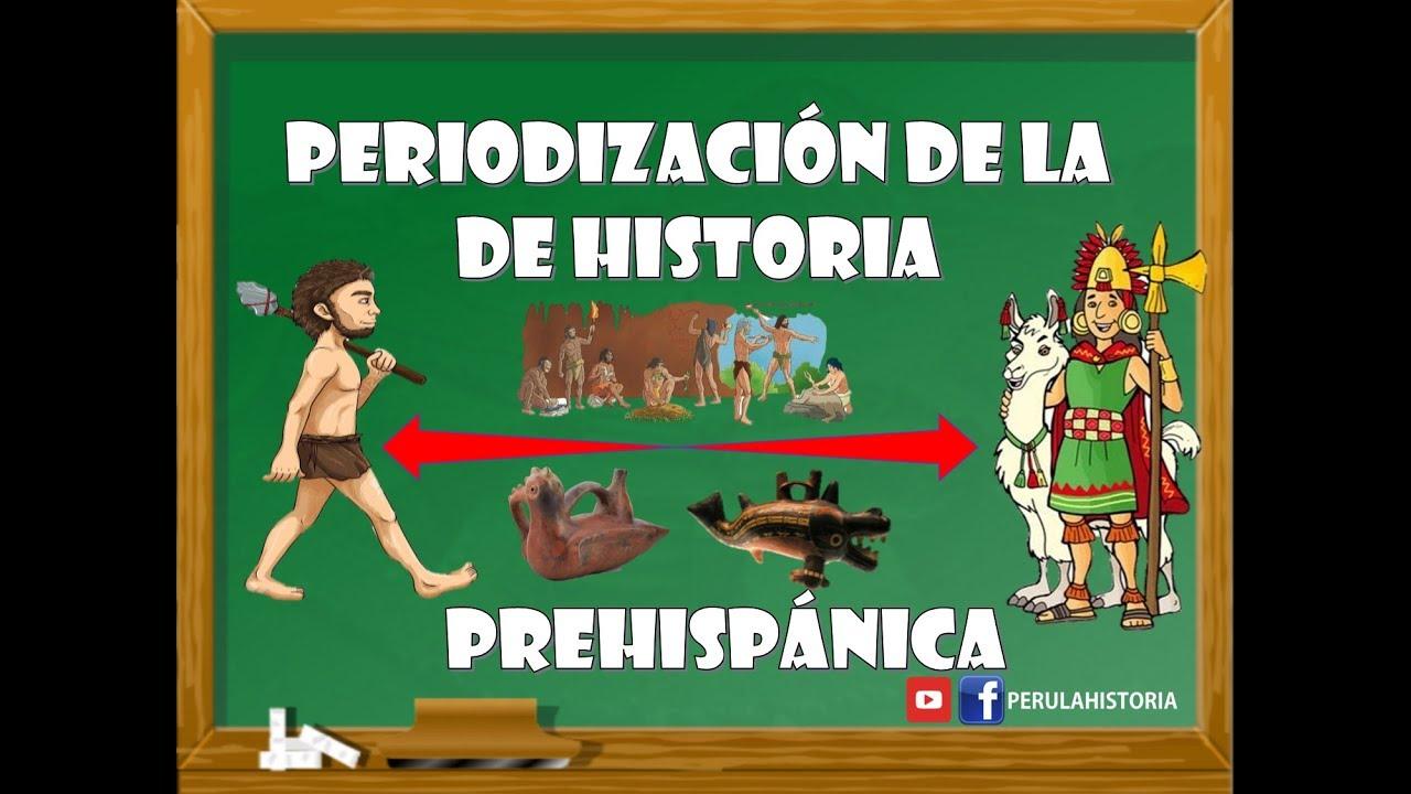 Periodizacion De La Historia Del Peru Prehispanico Youtube