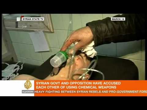 Al Jazeera talks to Ralf Trapp about chemical weapons in Syria