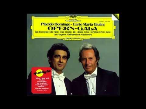 Placido Domingo, Bizet Je crois entendre