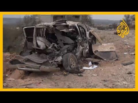 الجزيرة تتفقد مكان استهداف القوات التركية بريف #إدلب
