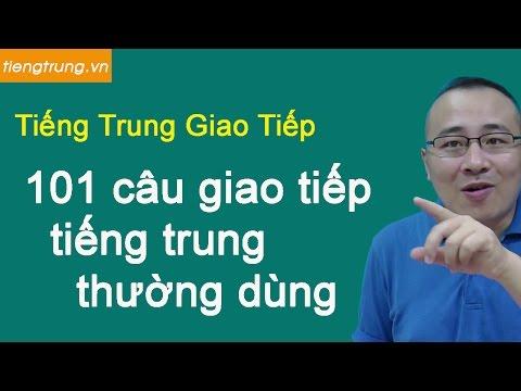 Học tiếng Trung miễn phí tại hà nội - 101 câu giao tiếp