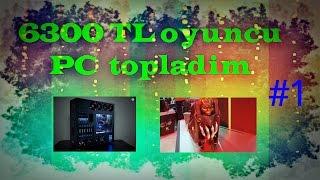 OHA '' Asus GeForce ROG STRİX GTX1070 '' Oyuncu PC Topladım #1