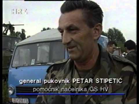 Oluja - Predaja 21.Kordunskog Korpusa Srpske Vojske - 8.08.1995