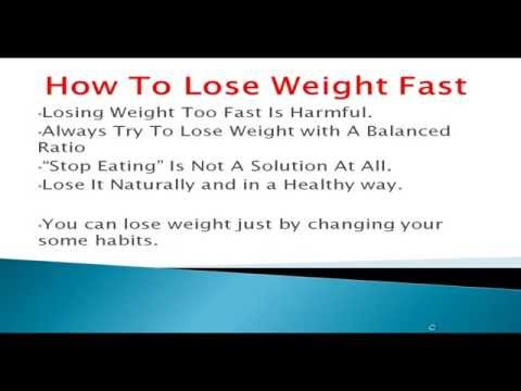 Natural Ways to Lose Weight Fast Without Exercise And Dieting