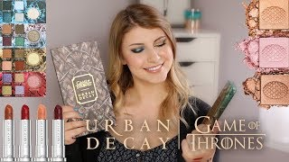Game of Thrones X Urban Decay Collection First Impressions