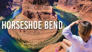 これはすごい!ドキドキする驚きの絶景!♡アリゾナのホースシュー・ベンド!Horseshoe Bend!〔#651〕【🇺🇸横断の旅 56】 thumbnail