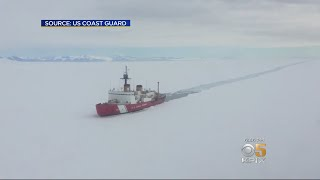 U.S. Coast Guard Cutter Polar Star Arrives In Vallejo For Repairs