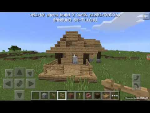 cara membuat rumah sederhana di minecraft pe youtube