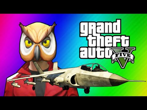 Thumbnail: GTA 5 Online Funny Moments - Hydra Jet Fun, Delirious's Battle Gear, Owl Tree!