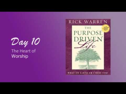 Purpose Driven Life Day 10