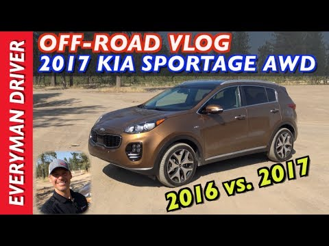 Off Road VLOG 2017 Kia Sportage AWD on Everyman Driver