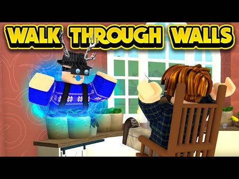 Crazy Walk Through Walls Glitch Roblox Bloxburg Youtube