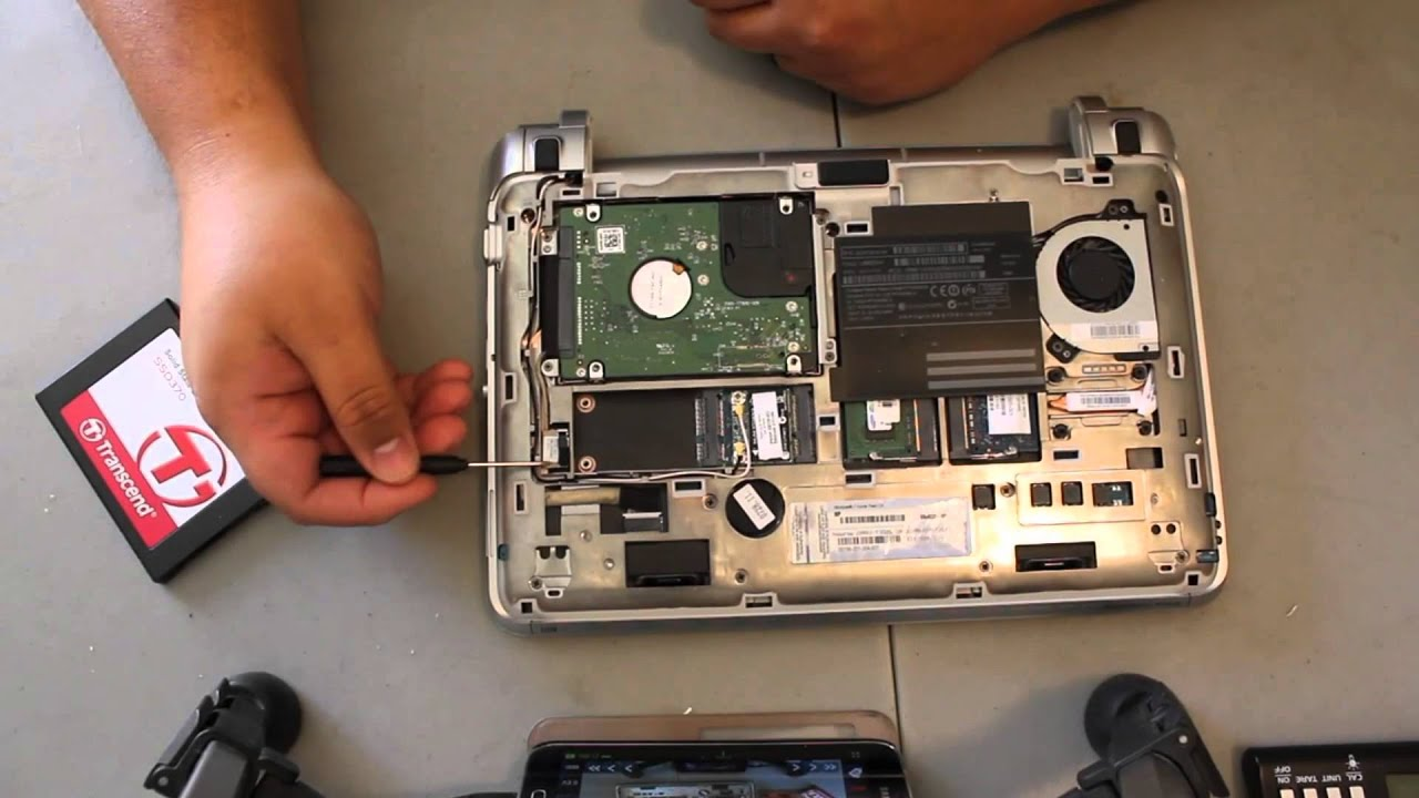 how to replace hard drive in pavilion 10-e004au
