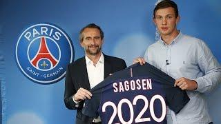 Sander Sagosen sera parisien en 2017