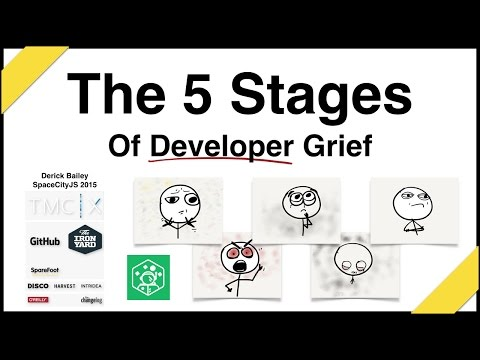 The 5 Stages of Developer Grief
