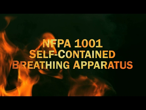 NFPA 1001 Self-Contained Breathing Apparatus