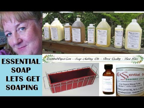 Essential Depot Haul (soap supplies) at the Cornerstone Market with Essential Soap