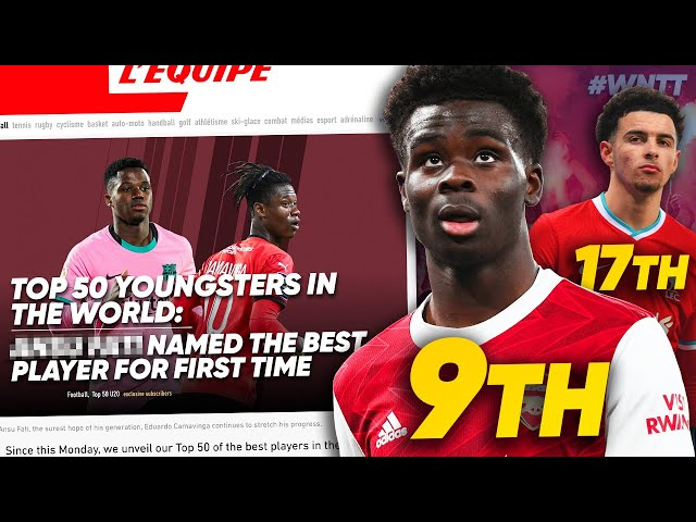 REACTING TO L'EQUIPE'S 50 BEST YOUNGSTERS IN WORLD FOOTBALL! | #WNTT