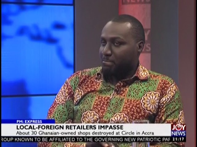 Local-Foreign Retailers Impasse - PM Express on JoyNews (14-8-18)