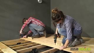 Je eigen houten terras maken
