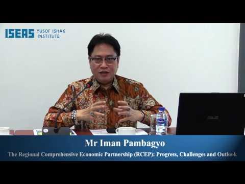 The Regional Comprehensive Economic Partnership (RCEP): Progress, Challenges and Outlook