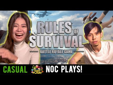 NOC Plays Rules Of Survival!