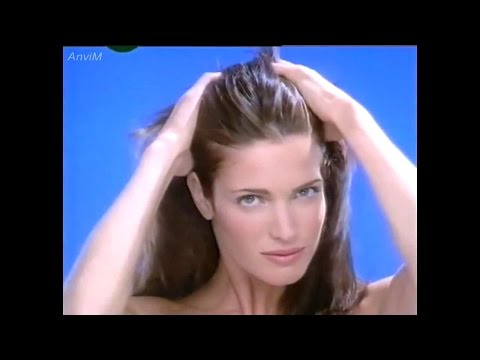 Stephanie Seymour : Loreal Elsève Commercial (1994)