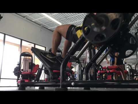 Heavy Leg Workout on Vacation at V Flex Gym Orlando Florida