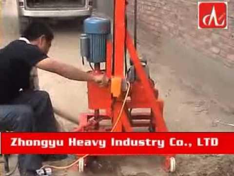 small borehole drilling machine