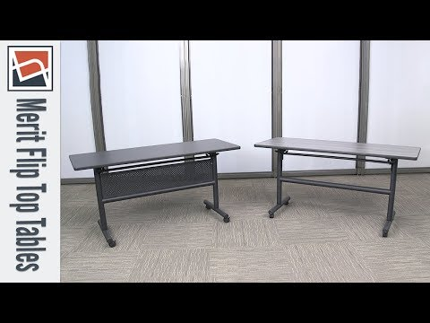 Nesting Tables | NBF Signature Series Merit Flip Top Tables | National Business Furniture