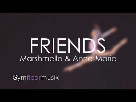 FRIENDS by Marshmello & Anne-Marie - Gymnastic floor music