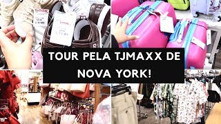 TOUR PELA TJ MAXX E MERCADO ORGÂNICO EM NOVA YORK!