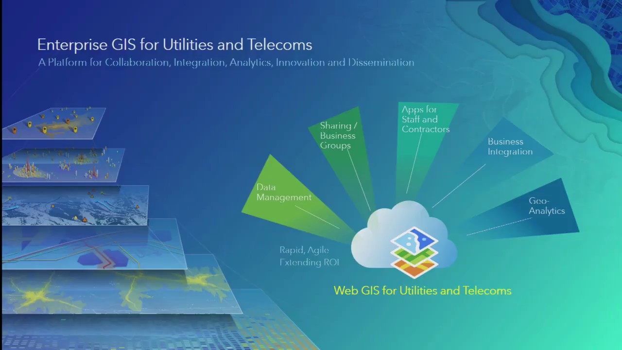 Managing Utility and Telco Networks with ArcGIS
