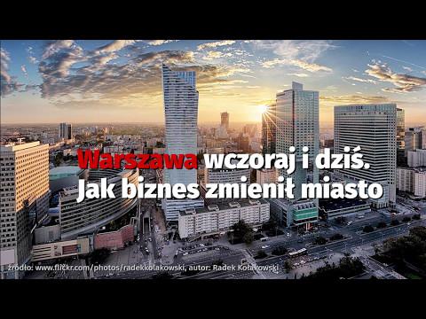 Jak zmieniła się Warszawa na przestrzeni lat?