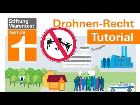 Drohnen-Recht: 6 wichtige Regeln zur Drohnenverordnung: Flugverbotszonen, Versicherung, Führerschein