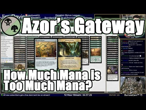 How Much Mana is Too Much Mana? Azor's Gateway in RIX Standard!