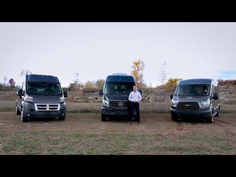 Mercedes-Benz Sprinter vs Ford Transit vs Dodge Promaster