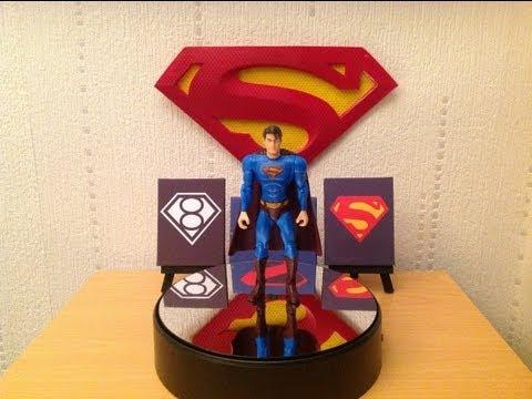 Superman Returns Heat Vision Superman Figure Review