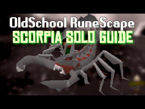 OldSchool Runescape - Scorpia: Detailed Solo guide (Mechanics, Gear Setups, Escapes & More)