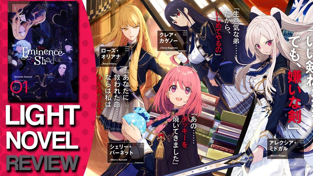The Eminence In Shadow Volume 1 Light Novel Review Lightnovel Youtube