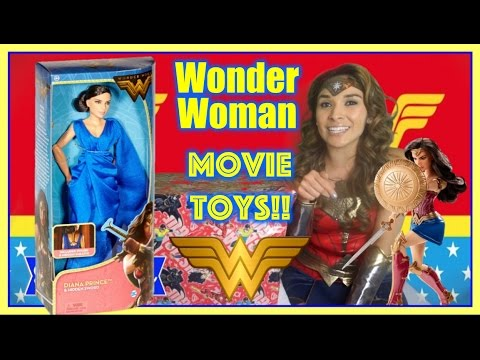 WONDER WOMAN Movie Dolls New Movie Trailer 2017 Wonder Woman Toys Cosplay Dress Up
