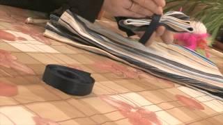 Как сшить галстук-бабочку