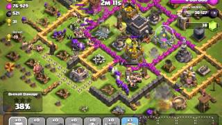 Clash of Clans Quick deployment troop attack