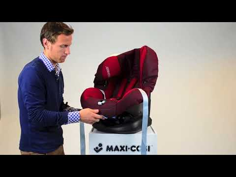 Maxi-Cosi Priori SPS | группа 1 | как снять чехол | EN