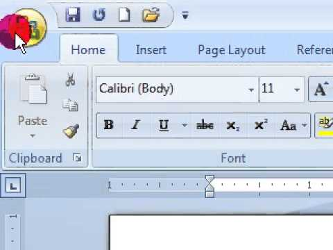 Learn Microsoft Office Word 2007 from starting ( Hindi )