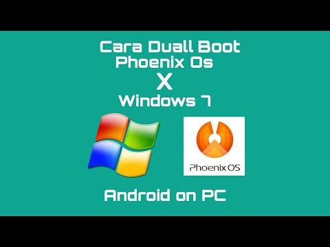 Cara Dual Boot Phoenix OS Dengan Windows 7