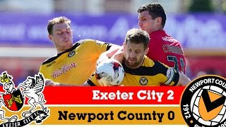 Exeter City 2-0 Newport County AFC (6/4/15): Sky Bet League 2 Highlights 2014/15