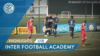 HIGHLIGHTS | INTER BERRETTI U18: A 4-0 WIN! | Inter Football Academy