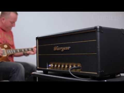 Fargen Olde 800 MK II demo + A/B comparison with Marshall JTM 45 & 1985 JCM800 2203 amps